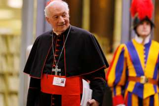 Cardinal Marc Ouellet, prefect of the Congregation for Bishops.