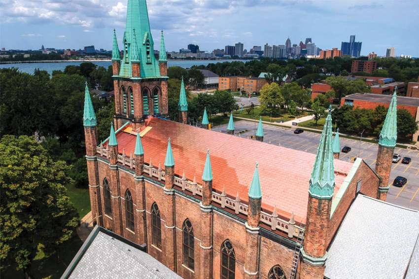 Our Lady of Assumption Church in Windsor, Ont., is ready for the next phase of its revitalization.