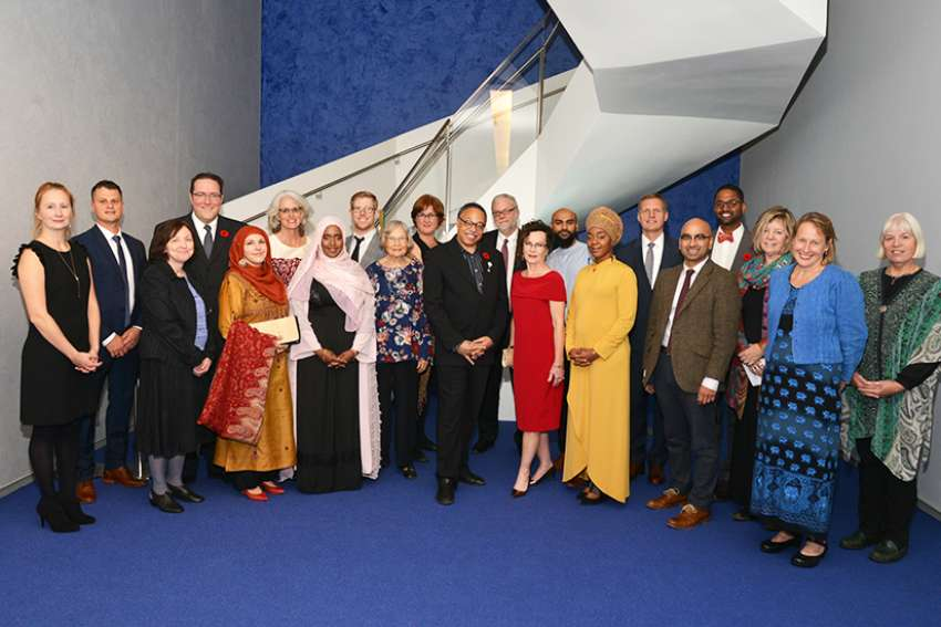 The awards reception to celebrate some of Canada's best writers and recognize their accomplishments in faith and writing. The reception took place October 30, 2017 at the Aga Khan Museum.