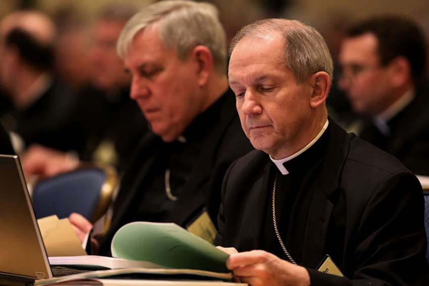 Bishop Thomas J. Paprocki of Springfield, Ill. issued a decree June 12 stating that people in same-sex marriages should not take Communion nor can they receive the sacrament of anointing of the sick or have a Catholic funeral unless they repent.