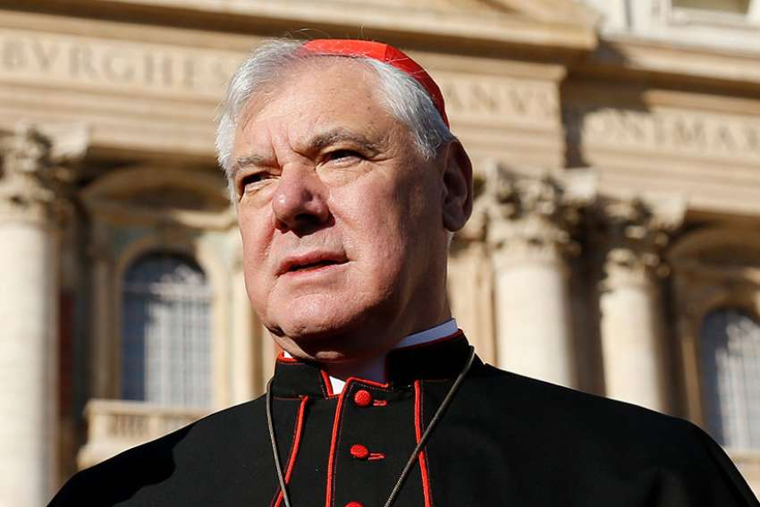 Cardinal Gerhard Muller, whose term as prefect of the Congregation for the Doctrine of the Faith was not renewed by Pope Francis, says rumours about his last meeting with Pope Francis are not true.