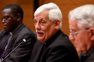 Jesuit Father Arturo Sosa Abascal, Superior General of the Jesuits and head of men's Union of Superiors General.