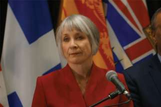 Health Minister Patty Hajdu, above, and Justice Minister David Lametti have asked for an court-extension on Bill C-7 until March 26.