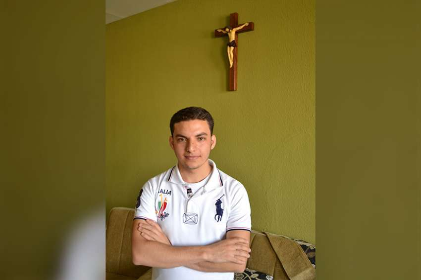 In 2014, as a 24-year-old seminarian, Martin Baani risked his life to save Blessed Sacrament from the imminent invasion of Islamic State terrorists in his hometown. He was ordained as a priest September 2016.