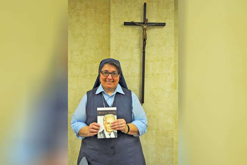 Sr. Rose Pacatte has penned Martin Sheen: Pilgrim on the Way, a spiritual biography of the American actor.