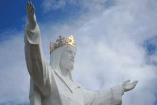 Christ the King statue in Swiebodzin, Poland. The feast of Christ the King was instituted in 1925 by Pope Pius XI through his encyclical Quas Primas. The context was a rising secularism in Europe and the Roman Question.