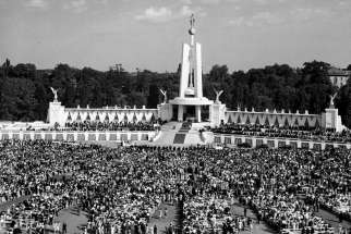 Lansdowne Park in Ottawa was the scene of the Marian Congress in 1947, featuring the consecration of Canada to the Immaculate Heart of Mary.