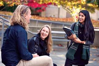 Students from St. Mark's College and the Vancouver School of Theology have found common ground.