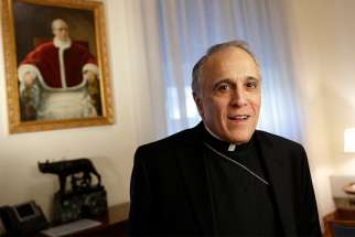 Cardinal Daniel N. DiNardo of Galveston-Houston, president of the U.S. Conference of Catholic Bishops, was taken to the hospital late March 15,2019, after experiencing symptoms of what tests March 16 confirmed was a mild stroke, according to an archdiocesan statement. Cardinal DiNardo is pictured in a Feb. 24 photo in Rome.