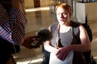 "Euthanasia Prevention Coalition media spokeswoman Taylor Hyatt said the Supreme Court's Feb. 6 decision striking down laws against assisted suicide discriminates against people with disabilities. ""That means me,"" said Hyatt, who has cerebral palsy."