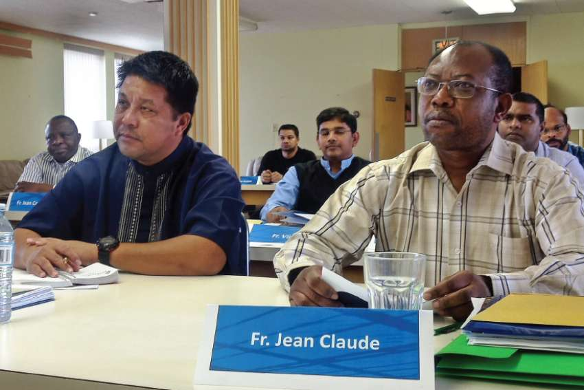 Fr. Jean-Claude Ndanga is one of the 20-25 priests who enrol in the Enculturation program each year.