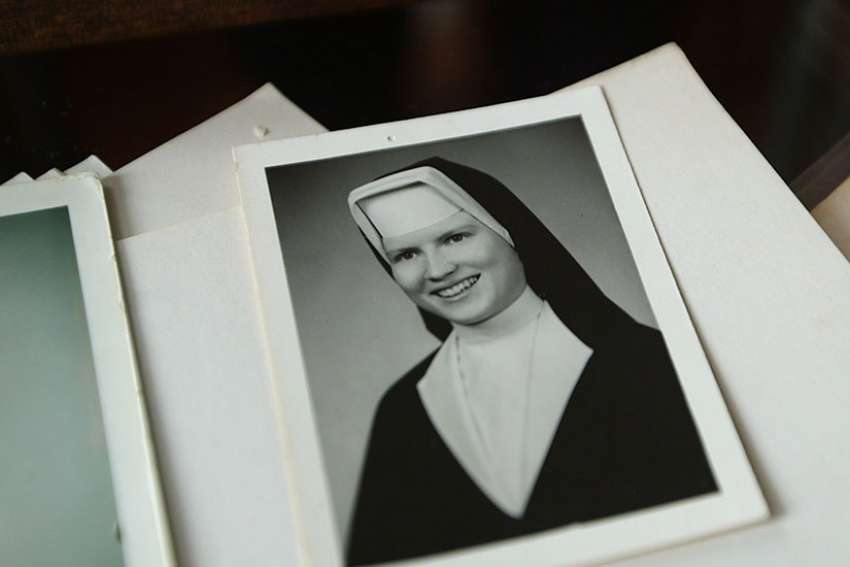 "A portrait of Sister Catherine Cesnik is seen in a still from the Netflix documentary series ""The Keepers."" As Netflix prepared to release the seven-part documentary about the unsolved 1969 murder of a Baltimore nun, officials of the Archdiocese of Baltimore reaffirmed that the church did not attempt to interfere in the investigation of the death of Sister Catherine."