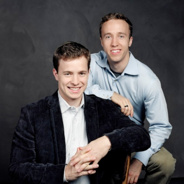 Craig and Marc Kielburger of Free The Children.