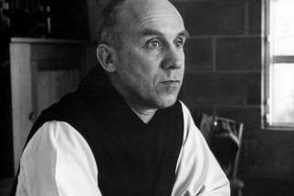 Trappist Father Thomas Merton, one of the most influential Catholic authors of the 20th century, is pictured in an undated photo. Devotees of the monk, who died in 1968, have planned various observances of the 100th anniversary of his birth, Jan. 31.