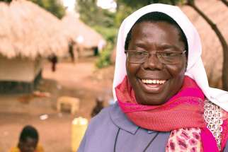 Sr. Rosemary Nyirumbe, named one of Time magazine's 100 most influential people of 2014 for her work with girls in Uganda, will speak in Toronto Feb. 9.