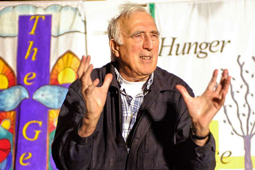 An undated photo of Jean Vanier