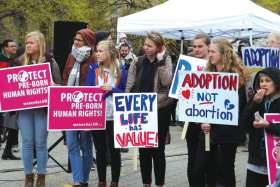 There's triumph and tears for youth in pro-life cause
