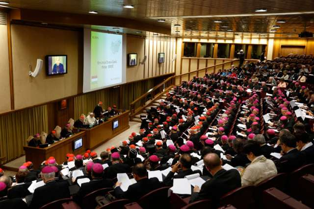 Family synod midterm report stirs controversy among bishops