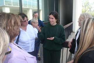 Pro-lifer Mary Wagner, seen here in a 2014 file photo, received thousands of letters and petitions of support prior to facing sentencing for her 2016 arrest at an abortion clinic.