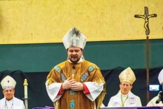 New bishop ordained for Canada's North
