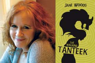 Jane Woods, author of The Walking Tanteek.