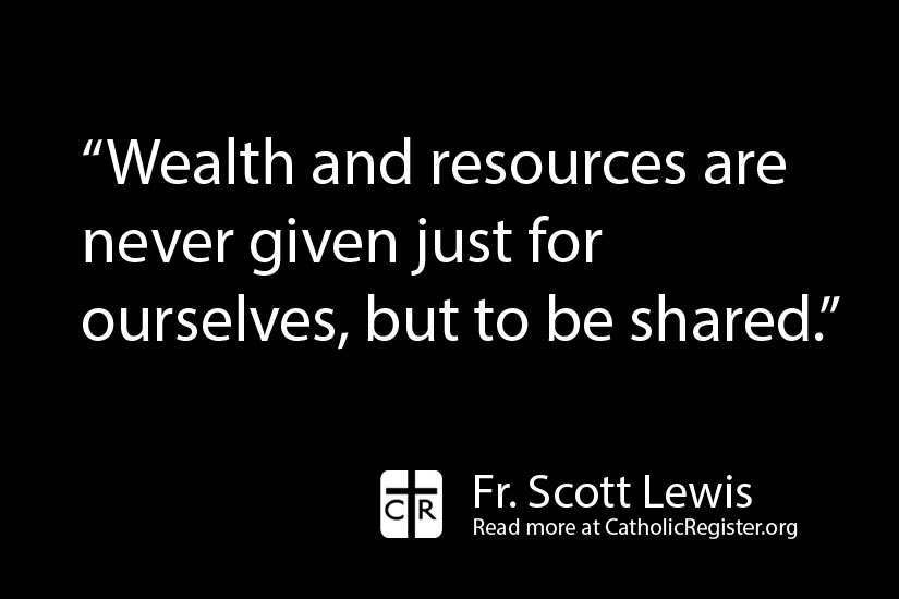 We should think carefully about what we do in the present and how it affects the eternal, writes Fr. Scott Lewis.