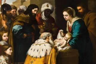 Adoration of the Magi by Bartolomé Esteban Murillo, 17th century