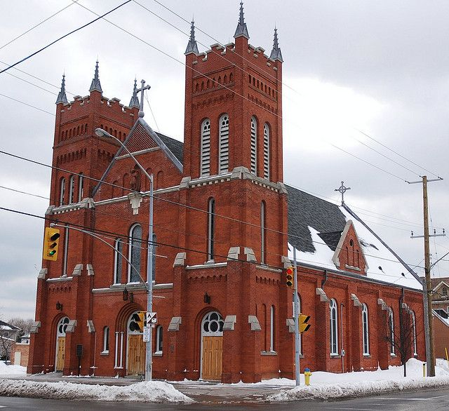 St. Michael's Church in Cobourg, Ont., is celebrating its 175th anniversary this coming year. The cornerstone of the current church was laid in 1895.