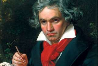 Despite living a miserable life, Ludwig van Beethoven penned some incredibly joyful music.