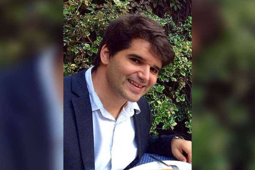 Ignacio Echeverria, 39, of Spain, was one of eight victims of three Islamist terrorists who drove a van into pedestrians on London Bridge before they attacked people randomly with knives and machetes in nearby Borough Market June 3. Echeverria is pictured in an undated family photo in Madrid.