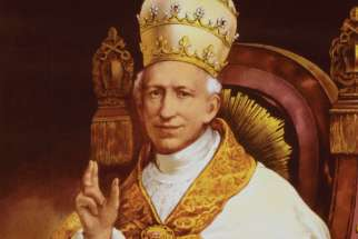 Pope Leo XIII is depicted in this official Vatican portrait. The pope founded the Vatican School of Paleography, Diplomatics and Archive Administration in 1884, just a few years after he opened the archives to the world's scholars.