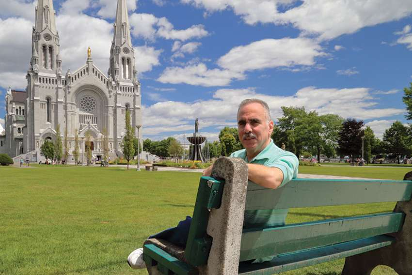Leonard DiVittorio of New York has been organizing the Ahearn Memorial Pilgrimage to the Basilica of Ste. Anne de Beaupré.