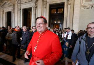 "Cardinal Gerald Lacroix of Quebec is one of three cardinals appointed by Pope Francis to try to resolve a long-standing dispute with a Peruvian university and see if it would be possible to restore the university's designation as ""pontifical"" and ""Catholic."""