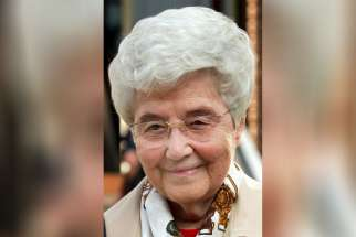 Chiara Lubich, founder of the Focolare movement, is pictured in 2003. Lubich died in 2008 and the Vatican Congregation for Saints' Causes has approved the opening for her sainthood cause.