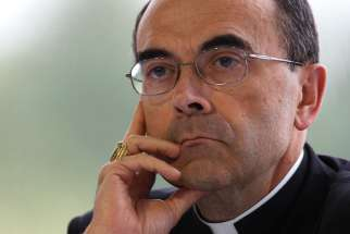 rench Cardinal Philippe Barbarin, archbishop of Lyon, Aug. 29, 2008.