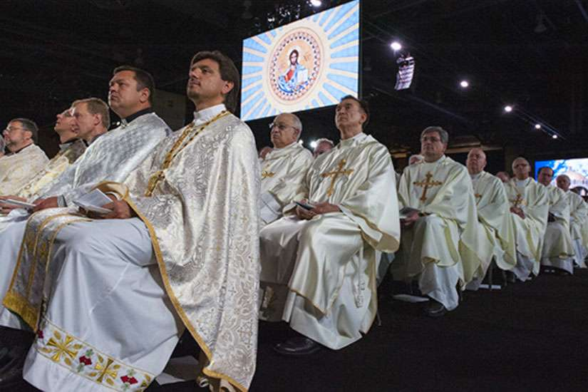 The Knights of Columbus' 133rd Supreme Convention opened with a new initiative to raise awareness and funds for persecuted Middle East Christians. Cardinals, archbishops, bishops and priests concelebrated Mass with Philadelphia Archbishop Charles J. Chaput Aug. 4.