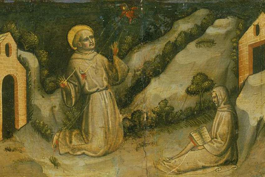 Saint Francis of Assisi Receiving the Stigmata, 1420