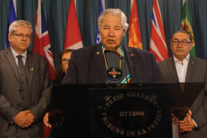 TRC chair Sen. Murray Sinclair said Catholic bishops will wear the shame of the past on Indian residential schools.