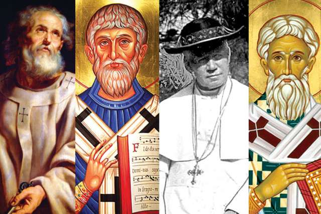 Sts. Peter, Gregory the Great, Pius X and St. Leo the Great are but a few of the popes who went on to be named saints.