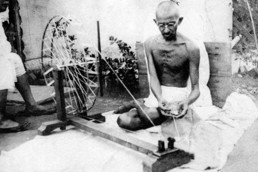 "Mahatma Gandhi left an ominious message about ""darkness."""