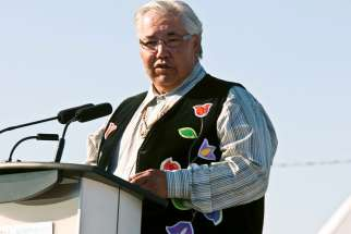 Justice Murray Sinclair, head of the Truth and Reconciliation Commission.