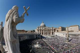 Pope Francis plans to build showers for the homeless under the sweeping white colonnade of St. Peter's Square