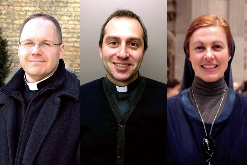 Fr. Chris Valka, Fr. Frank Portelli and Sr. Helena Burns will answer questions about vocations on Nov. 10.
