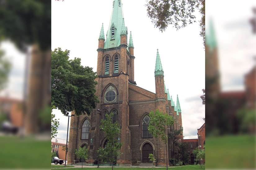 The nearly 170-year-old Our Lady of the Assumption Church in Windsor, Ont., has been closed by the Diocese of London as it considers a rescue package to save the historic church