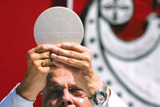 The Eucharist is the source and summit of Christian life, and that is evident in the Catholic school system.