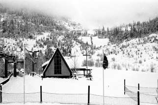 The old skiers' chapel at the base of the mountain in Whistler, B.C., eventually became Our Lady of Mountains Parish, celebrating its 25th year.