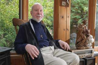 Fr. Joe MacDonald has spent more than 50 years as a priest, most of those years caring for ex-psychiatric patients.