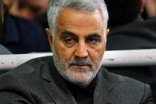 Iranian Maj. Gen. Qassem Soleimani, pictured in an undated photo, was killed in a U.S. drone airstrike at Baghdad International Airport Jan. 3, 2020.