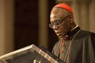 In silence we find God, we discover who we are and we equip ourselves for a meaningful life, Cardinal Robert Cardinal Sarah of Guinea said March 12 to an overflow crowd of 1,200.