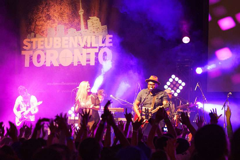 Steubenville Toronto's inaugural conference took place on July 4-6, 2014 at Mattamy Athletic Centre.